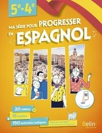 Franck Tarin - Ma série pour progresser en espagnol 5e-4e.