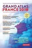 Franck Tétart - Grand atlas de la France - Toute l'actualité française en 150 cartes.