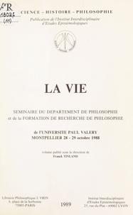 Franck Tinland et  Universite Paul Valery - La vie.