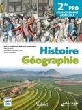 Franck Vergnenègre et Fabrice Barth - Histoire Géographie 2de Pro enseignement agricole.