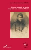 Franck Waille - Trois décennies de recherche européenne sur François Delsarte.