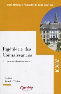 Actes de la conférence IC 2007 - 18e Journées Francophones dIngénierie des Connaissances, Grenoble, 4-6 juillet 2007.pdf