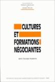 Franco Angiolini et  Collectif - Cultures et formations négociantes. - Dans l'Europe moderne.