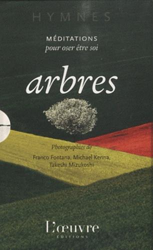 Franco Fontana et Michael Kenna - Arbres - Méditations pour oser être soi, coffret 3 volumes.