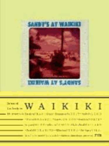 Franco - Sandy's At Waikiki /franCais/anglais/espagnol.