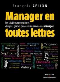 François Aélion - Manager en toutes lettres.