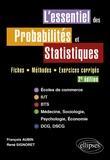 François Aubin et René Signoret - L'essentiel des probabilités et statistiques - Fiches, méthodes, exercices corrigés.