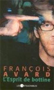 François Avard - L'esprit de bottine.