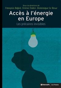 François Bafoil et Ferenc Fodor - Accès à l'énergie en Europe - Les précaires invisibles.
