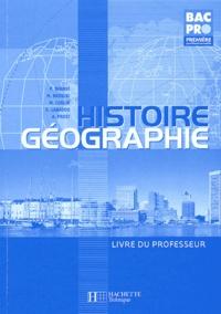 Ucareoutplacement.be Histoire-Géographie 1e Bac pro - Livre du professeur Image