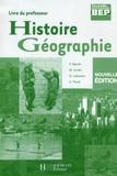François Barrié et Michel Corlin - Histoire géographie, BEP 2e professionnelle - Livre du professeur.