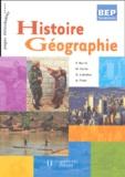 François Barrié et Michel Corlin - Histoire Géographie Terminale BEP.