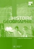 François Barrié et Michel Corlin - Histoire-Géographie Tle Bac Pro - Livre du professeur.