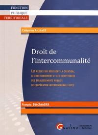 François Benchendikh - Droit de l'intercommunalité.