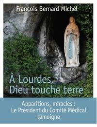François-Bernard Michel - A Lourdes, Dieu touche terre - Le président du Comité médical international témoigne.
