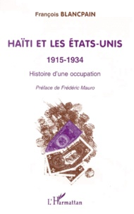 Openwetlab.it HAITI ET LES ETATS-UNIS 1915-1934. Histoire d'une occupation Image