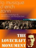 François Bon François Bon et Howard Phillips Lovecraft - La musique d'Erich Zann.