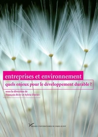 François Bost et Sylvie Daviet - Entreprises et environnement : quels enjeux pour le développement durable ?.