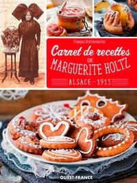 Histoiresdenlire.be Carnet de recettes de Marguerite Holtz - Alsace 1913 Image
