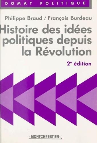 Histoire des idées politiques depuis la Révolution
