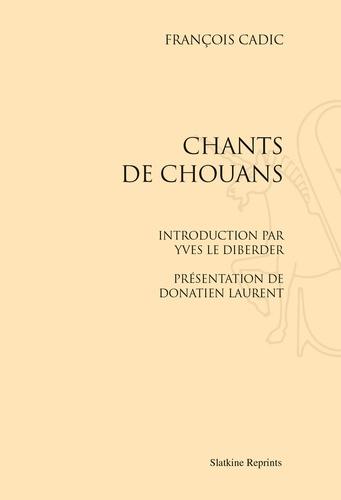 François Cadic - Chants de Chouans.