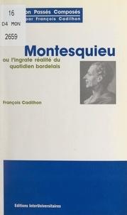 François Cadilhon - Montesquieu - Ou La réalité ingrate du quotidien bordelais.
