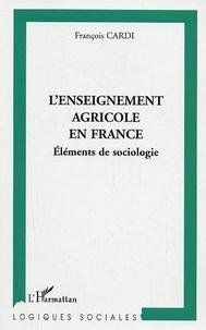 François Cardi - L'enseignement agricole en France.