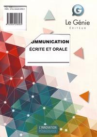 François Cartier - Communication écrite et orale.