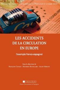 François Caulet et Mathieu Rouillard - Les accidents de la circulation en Europe - L'exemple franco-espagnol.