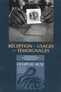François-Charles Gaudard - Réception et usage des témoignages.