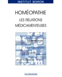 HOMEOPATHIE. - Les relations médicamenteuses.pdf