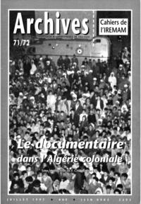 François Chevaldonné - Le documentaire dans l'Algérie coloniale.