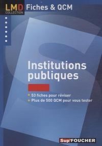 François Chevalier - Institutions publiques.