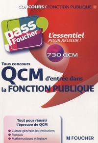 François Chevalier et Thierry Marquetty - QCM d'entrée dans la fonction publique - Tous concours.