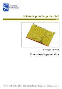François Chevoir - Ecoulements granulaires.