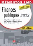 François Chouvel - Finances publiques 2013.