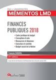 François Chouvel - Finances publiques - Cadre juridique du budget, conception et vote, ressources et dépenses, exécution et contrôle, budget social de la Nation.