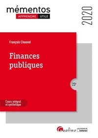 François Chouvel - Finances publiques - Cours intégral et synthétique.
