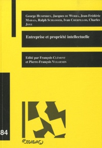 François Clément et Pierre-François Vulliemin - Entreprise et propriété intellectuelle.