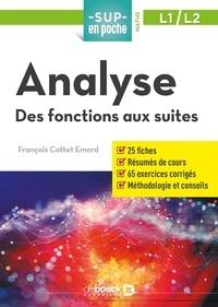 Analyse- Des fonctions réelles aux suites - François Cottet-Emard   Showmesound.org