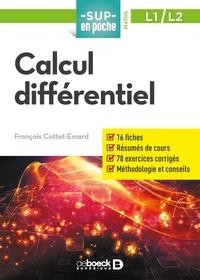 Calcul différentiel- L1/L2 - François Cottet-Emard pdf epub