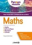 François Cottet-Emard - Maths pour les licences de Maths, Informatique, Physique, Chimie.