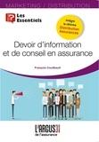 François Couilbault - Devoir d'information et de conseil en assurance.