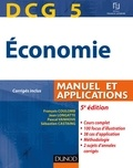 François Coulomb et Jean Longatte - DCG 5 - Économie - 5e édition - Manuel et applications.
