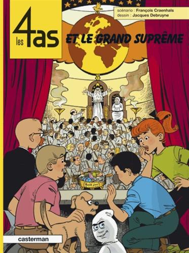 François Craenhals et Jacques Debruyne - Les 4 as Tome 41 : Les 4 as et le grand Suprême.