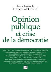 Livres gratuits à télécharger sur kindle touch Opinion publique et crise de la démocratie 9782130820963