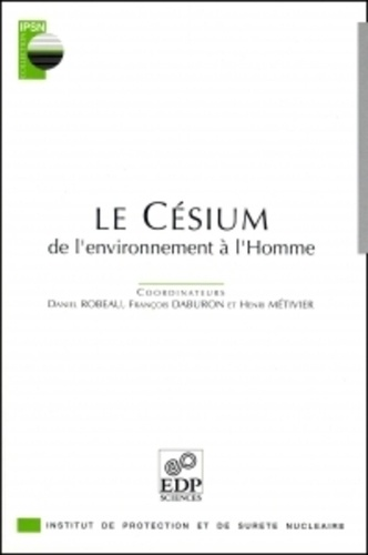 Le césium.. De l'environnement à l'homme