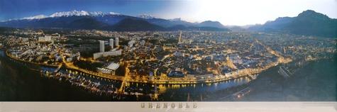 François Dardelet - Poster Grenoble Alpes.