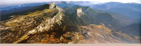 François Dardelet - Poster Vercors - Mont Aiguille.