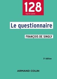 François de Singly - Le questionnaire.